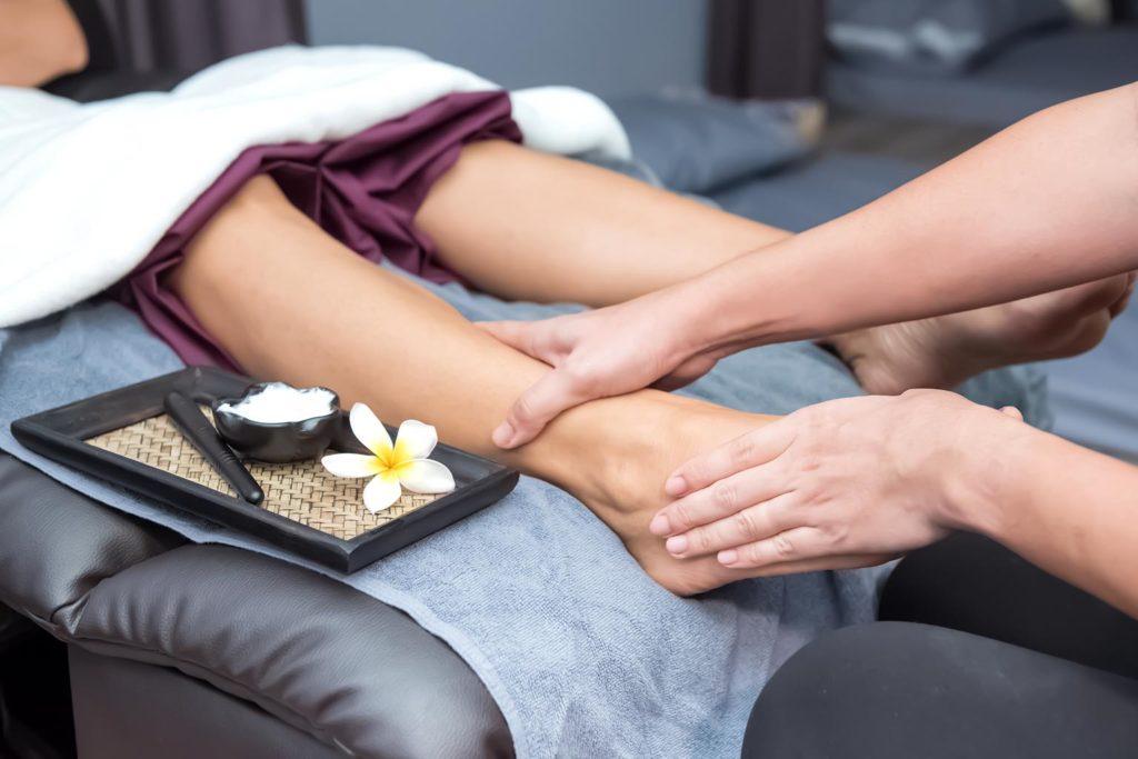 Thai Fuss-Massage