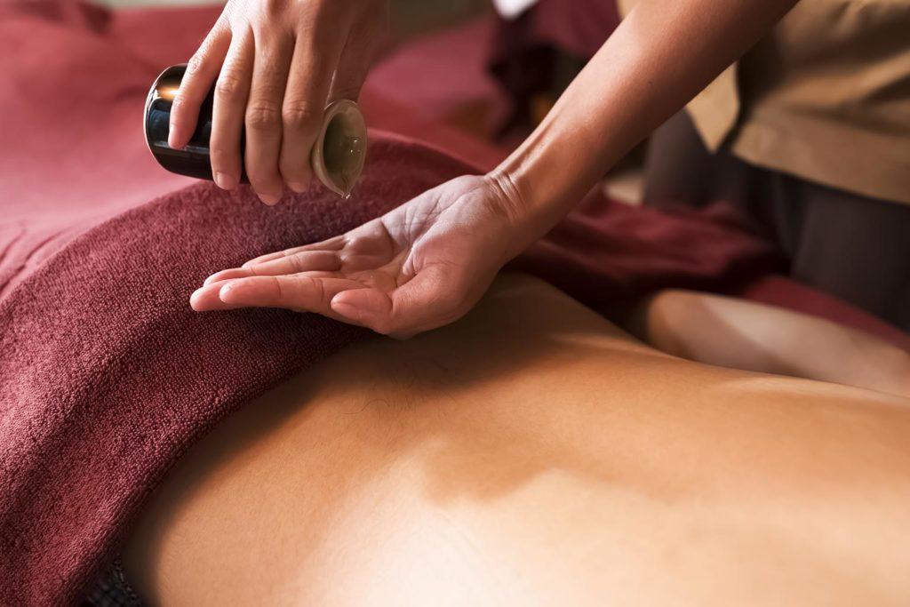 Thai Öl-Massage